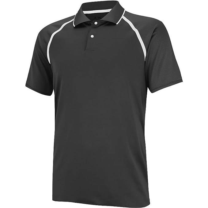 adidas Golf Mens PUREMOTION Tour climacool Metallic Polo Shirt ...