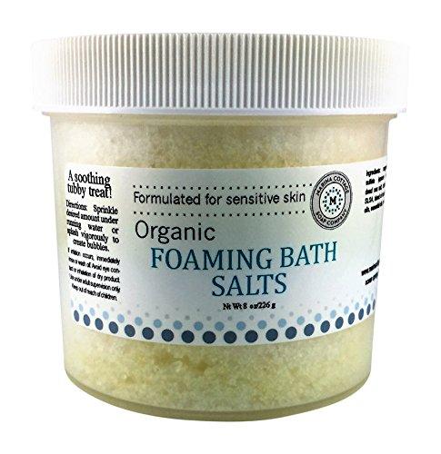 Lemongrass Scented Bath Salt - Marina Cottage Soap Co. Foaming Bath Salts-Citrus, Cedar, and Sage