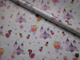 Case of 12 Asda 2m Rolls Girls Fairy Castle Birthday Party Wrapping Paper Gift Wrap