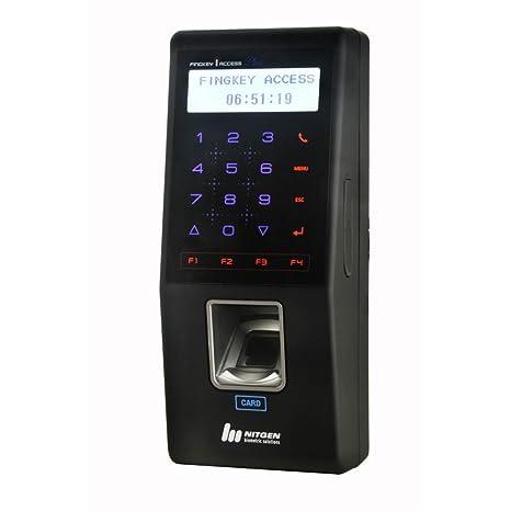 Acceso Fingkey Nitgen SW101-M huellas dactilares asistencia de Control de acceso 13,56