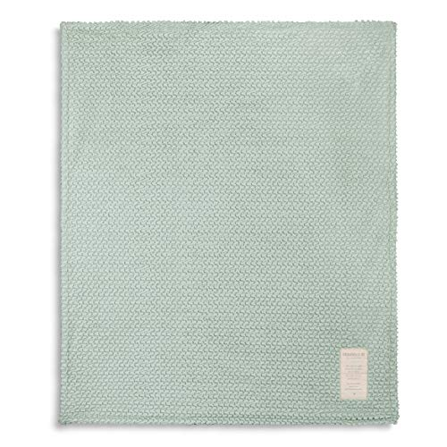 DEMDACO Grandma and Me Soft Sage 60 x 50 Polyester Fabric Toddler Cuddle Blanket ()
