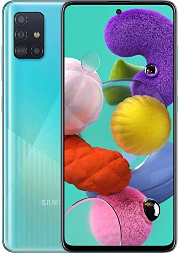 Amazon Com Samsung Galaxy A71 Sm A715f Ds 4g Lte 128gb 8gb Ram 6 7 4g Lte Prism Crush Blue Electronics