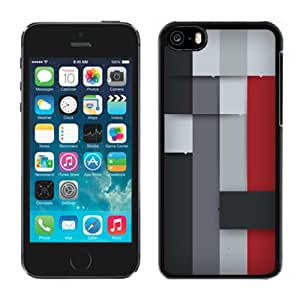 New Personalized Custom Designed For iPhone 5C Phone Case For Colored Paper Stripes Phone Case Cover