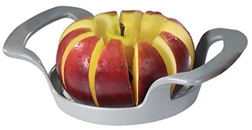 Westmark Apple Slicer, Cuts 10 Even Slices, Easy to use Apple Corer Made of Coated Aluminum and Stainless Steel Blades Save time multiple slices at once Good for your Healthy Snacks