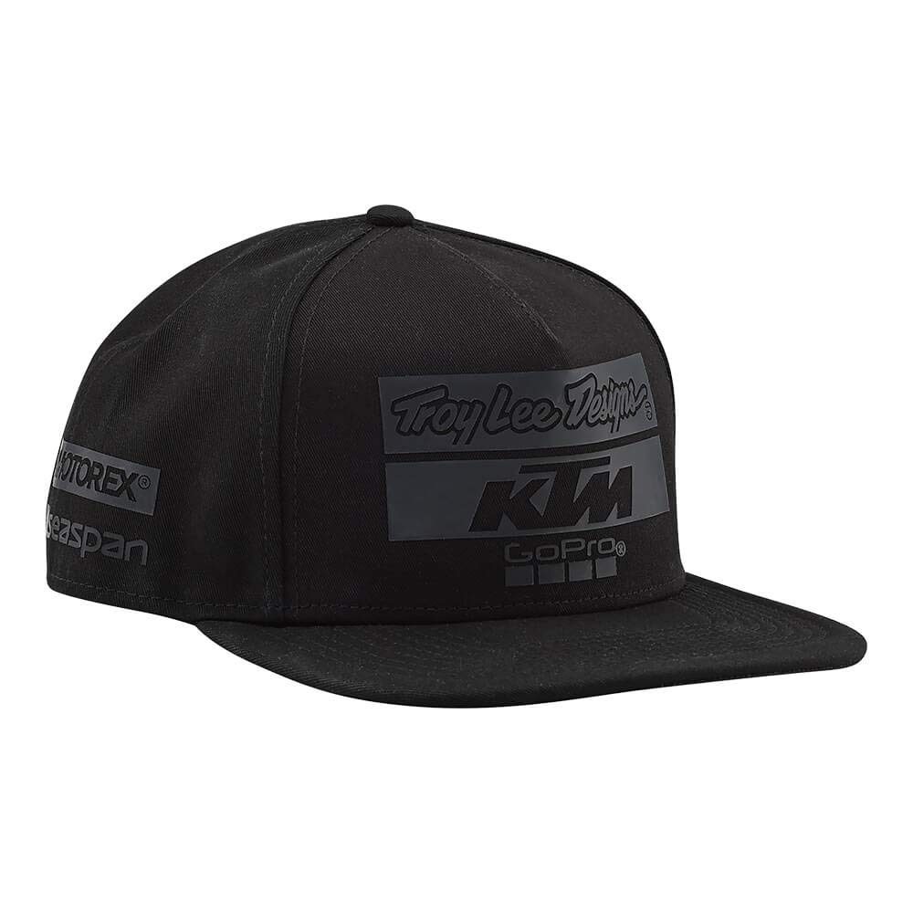 Amazon.com: Troy Lee Designs KTM Team Limited Edition Blackout New Era 9Fifty Strapback Hat OSFA: Clothing