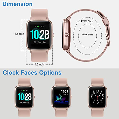 Willful Smart Watch for Android Phones and iOS Phones Compatible iPhone Samsung, IP68 Swimming Waterproof Smartwatch… 5