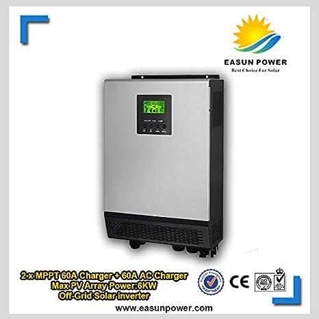 10 KVA - 8KW 48VDC Solar Hybrid inversor con 12KW 2MPPT ...