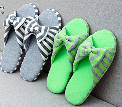 Pantofole Da Donna Cattior Da Donna In Cotone Con Fiocco E Ciabatte Da Donna