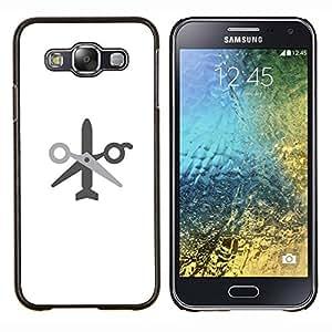 EJOOY---Cubierta de la caja de protección para la piel dura ** Samsung Galaxy E5 E500 ** --sin wor ningún misil