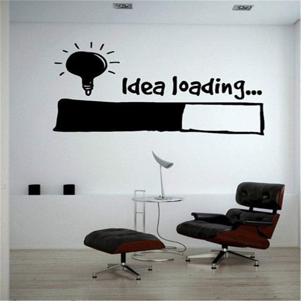 pegatinas de pared juveniles Idea de carga Bombilla de la lámpara ...