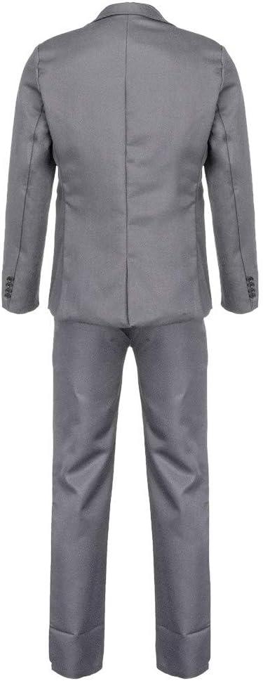 Bibao traje de 2 piezas para hombre, ajustado, con botones, para ...
