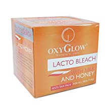 Oxy Glow Nature's Care Lacto Bleach With Milk & Honey Anti-Tan Face Pack 50g