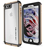 Ghostek Atomic Extreme Waterproof Case Compatible with iPhone 8 Plus / 7 Plus - Gold