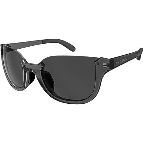 8dd3f9f9d26 Amazon.com   Ryders Eyewear Newsch Dark Crystal with Grey Lens ...