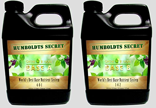 World's Best Base Nutrient System: Humboldts Secret Base A & B Bundle...