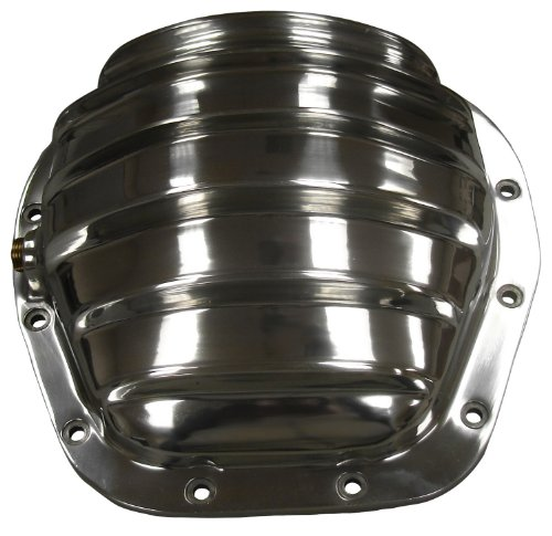 CSI 1384 Polished Finned Aluminum Differential Cover, 86-...