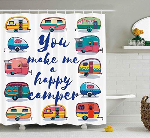 shower curtains for camper - 2