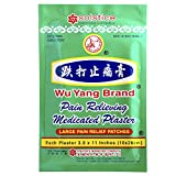 WU YANG BRAND Pain Relieving Medicated Plaster (Box, 10 Plasters)
