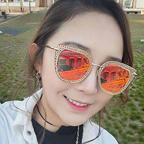 Color 2 polarizadas de Delgadas Sol 2 Sol de DT Gafas Gafas Coreanas Gafas Femeninas OP1qxwHwnF