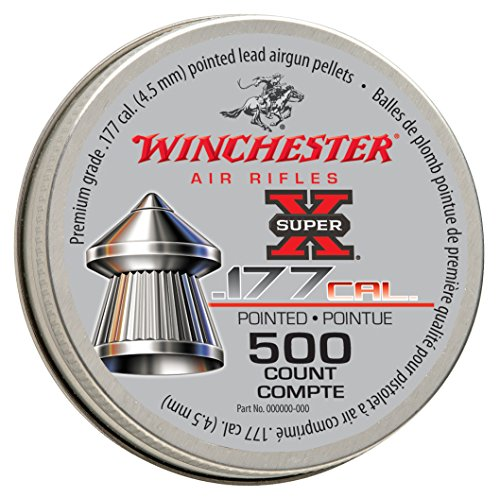 Winchester 7414 AIR Rifles Super x Round Air Rifle Pellet (500Count).177 Caliber