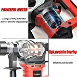 AOBEN 1-1/4 Inch SDS-Plus Rotary Hammer Drill with