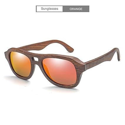 DingXW Moda Bambú Gafas Hechas a Mano Gafas de Sol ...