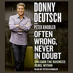Often Wrong, Never in Doubt Audiobook