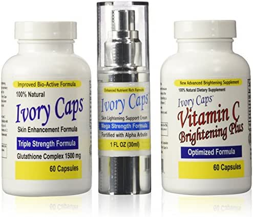 Ivory Caps Complete Skin Lightening Systems (System 3)