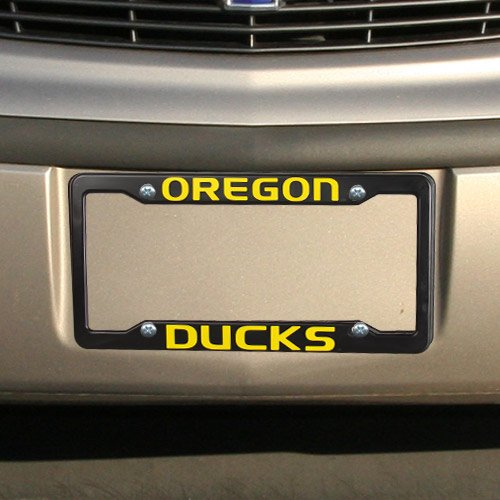 Oregon Ducks Plastic License Plate Frame - Oregon Ducks