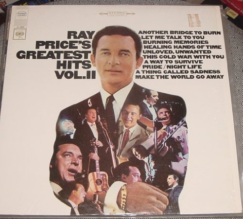 Price comparison product image RAY PRICE - greatest hits vol. 2 COLUMBIA 2670 (LP vinyl record)