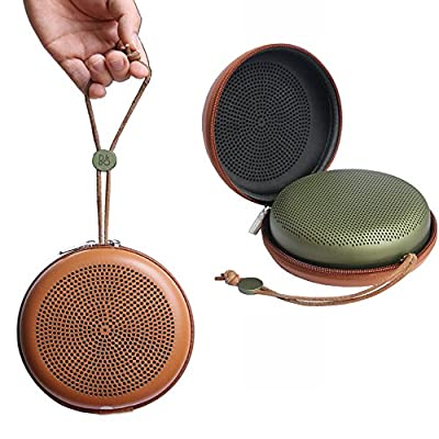 Esimen Hard Case for BeoPlay A1 B&O Play by BANG & OLUFSEN Bluetooth Speaker Carry Bag Protective Box (Brown for BeoPlay A1)
