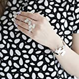 Alessi Aleesi MT16 Maestrale Bracelet, Silver