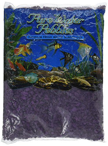 Purple Gravel - Worldwide Imports AWW70085 Color Gravel, 5-Pound, Purple Passion,