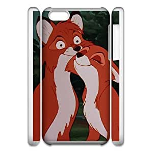 Protection Cover iphone6 4.7 3D Cell Phone Case White Ftyyg The Fox and the Hound Personalized Durable Cases