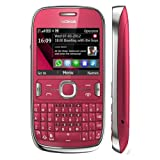 Nokia Asha 302 Unlocked GSM Phone with 3.2MP Camera, Video, QWERTY Keyboard, Wi-Fi, Bluetooth, FM Radio, MP3/MP4 Player and microSD Slot - International Version/Warranty - Red