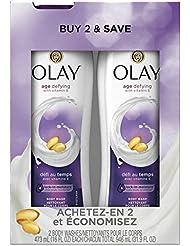 Olay Body Wash with Vitamin E, 16 Fl Oz, 2 Count