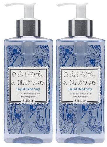 Softsoap Liquid Hand Soap Pump, Jasmine and Mint, 8 Ounce  (pack of 2)