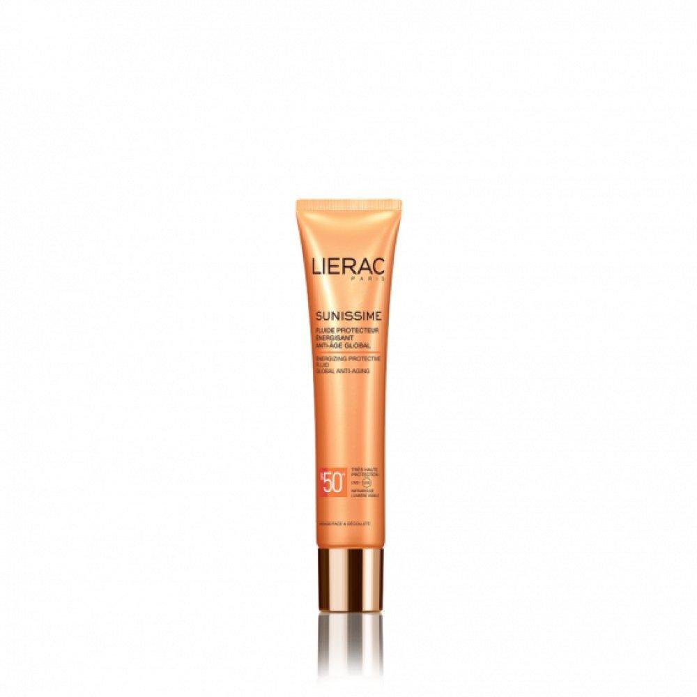 Lierac - Fluído protector revitalizante rostro spf50+ sunissime 8070
