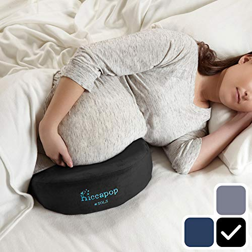 hiccapop Pregnancy Pillow Wedge for Maternity | Memory Foam Pillows Support...