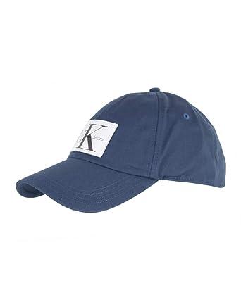 Calvin Klein CK Jeans - Gorra de béisbol - para Hombre Azul Steel ...