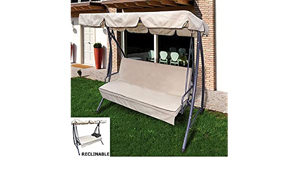 Balancin Jardin Reclinable Elba: Amazon.es: Hogar