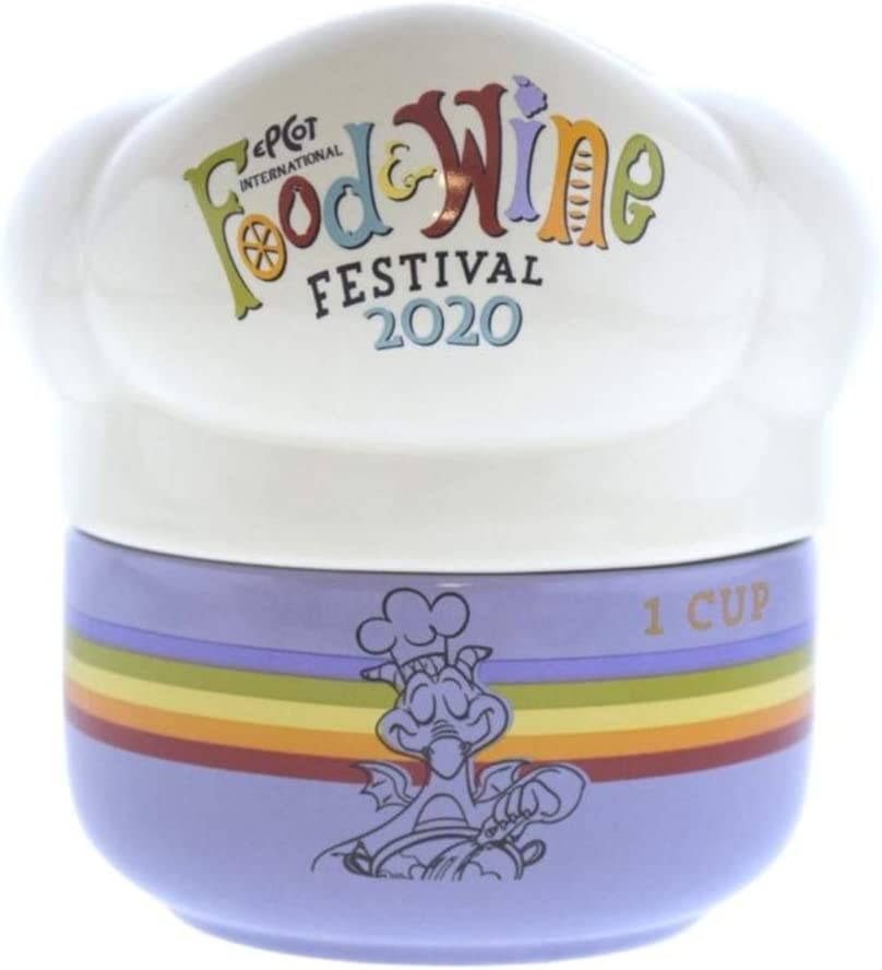 Disney Parks Epcot Food and Wine Festival 2020 5 Piece Measuring Cup Set