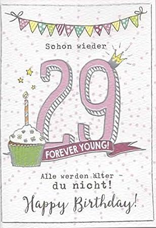 Lustige Geburtstagskarte Zum 30 Geburtstag Frau Schon Wieder 29