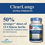 Ridgecrest Clearlungs Extra Strength, Herbal