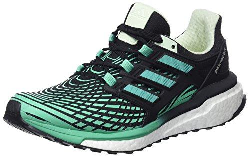 adidas Energy Boost, Scarpe da Running Donna Nero (Cblack/Hiregr/Aergrn)