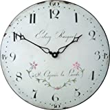 Cheap Roger Lascelles Lalande Classic French 19th Century Style Wall Clock, 14.2-Inch