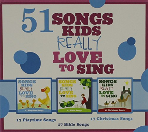 51 Songs Kids Really Love To Sing [3 CD]