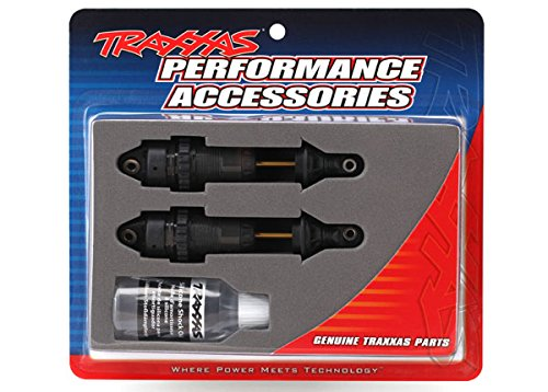 Traxxas 7461X Hard-Anodized GTR Shocks with PTFE-Coated Bodies & TiN Shafts (pair)