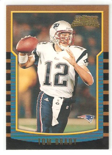Amazoncom 2000 Bowman 236 Tom Brady Rc New England