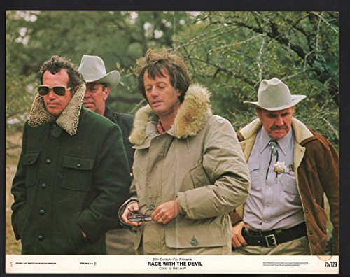 Hasten with the Devil Lobby Card-Peter Fonda, Warren Oates, and R.G. Armstrong.